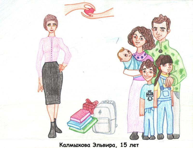 В Якутии в конкурсе рисунков «Социальный работник глазами наших детей» приняли участие 207 ребят