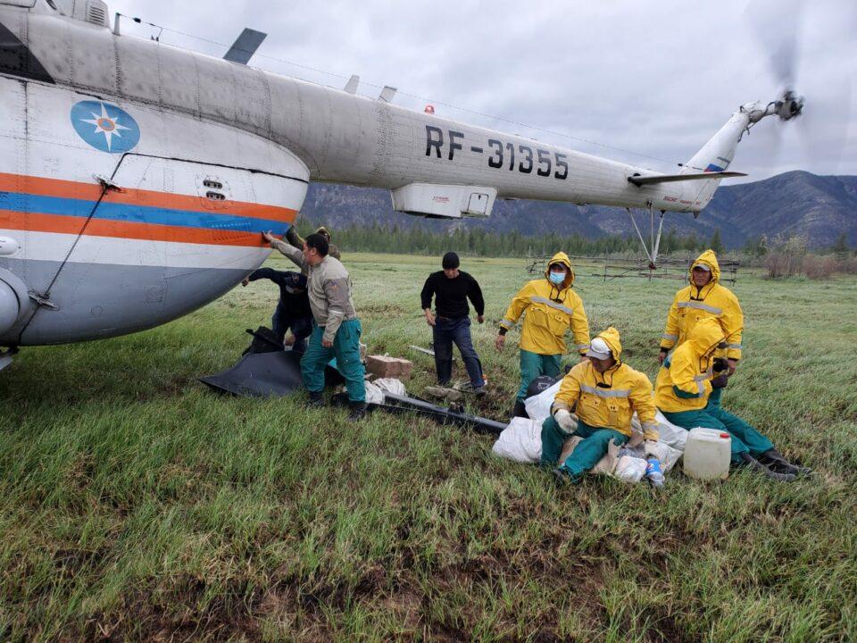 Тринадцать районов Якутии получили средства из республиканского резерва на тушение лесных пожаров