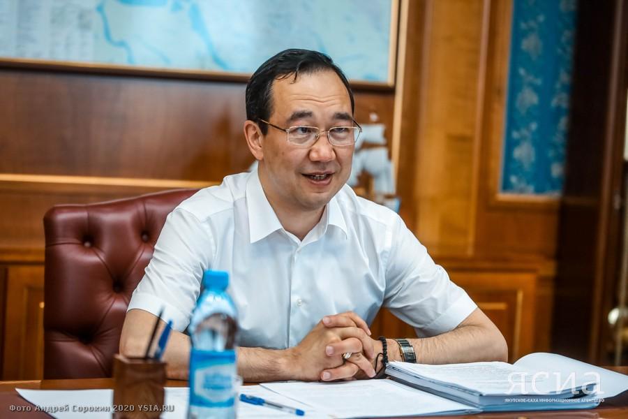 Афанасий Ноев рассказал о ходе работы главы Якутии в Кобяйском улусе