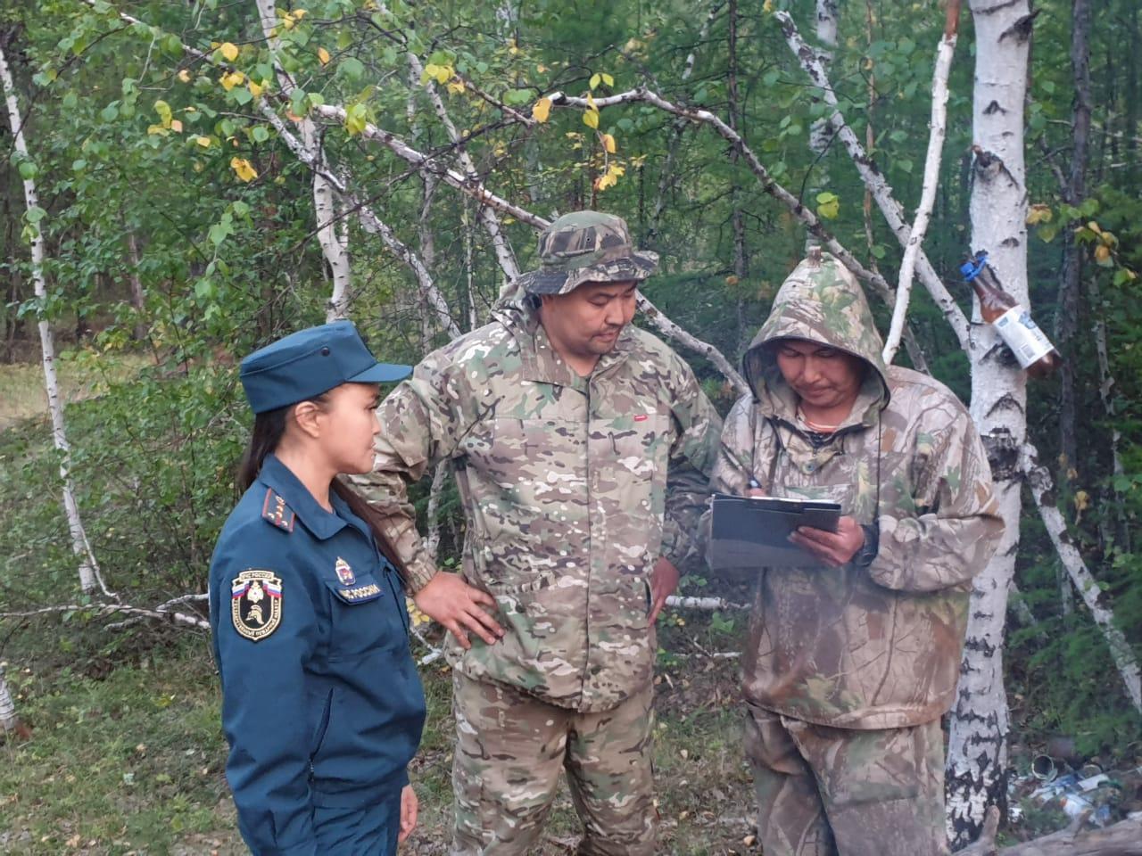 В Якутии установлены личности 17 человек, причастных к возникновению пожаров