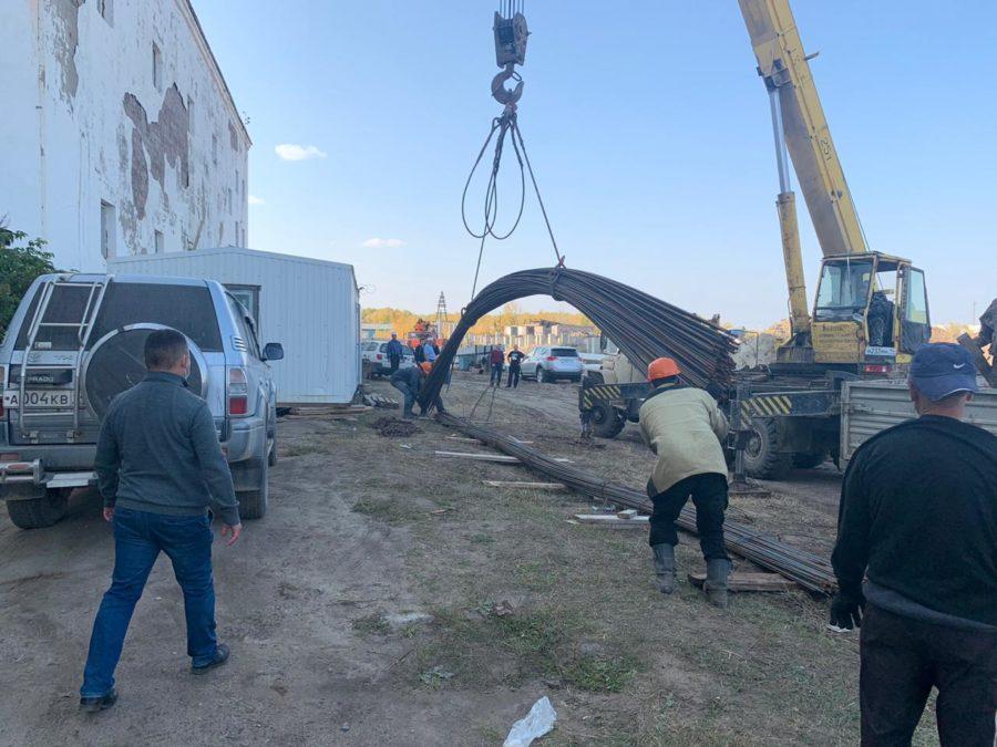 В поселке Жатай ведется строительство канализационных очистных сооружений