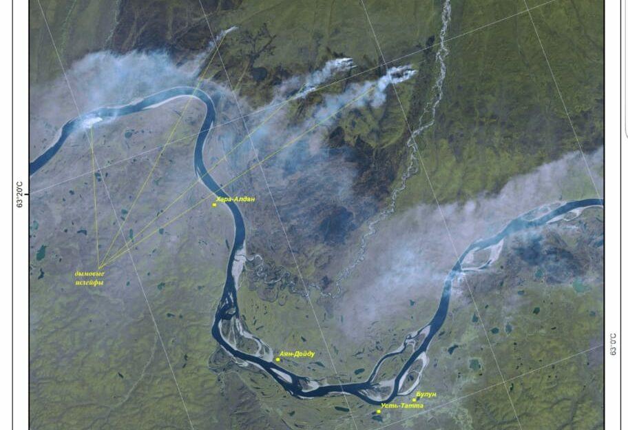 Задымленность в Якутске вызвана пожарами в Усть-Алданском и Чурапчинском районах