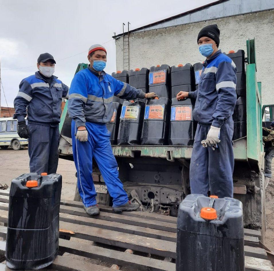 «Саханефтегазсбыт» завершает отгрузку тарированных нефтепродуктов в навигацию-2020