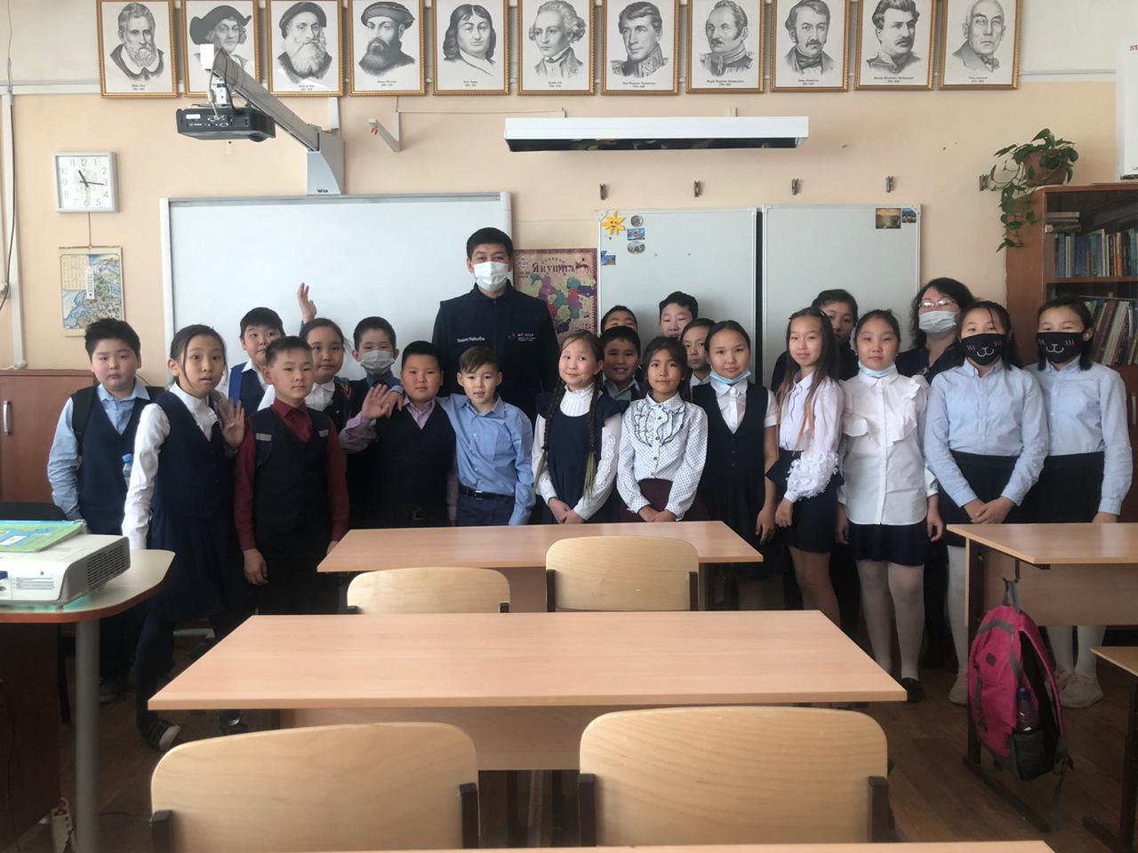 Цифру в школы. Пятиклассники Школы №21 стали участниками акции «Урок Цифры»