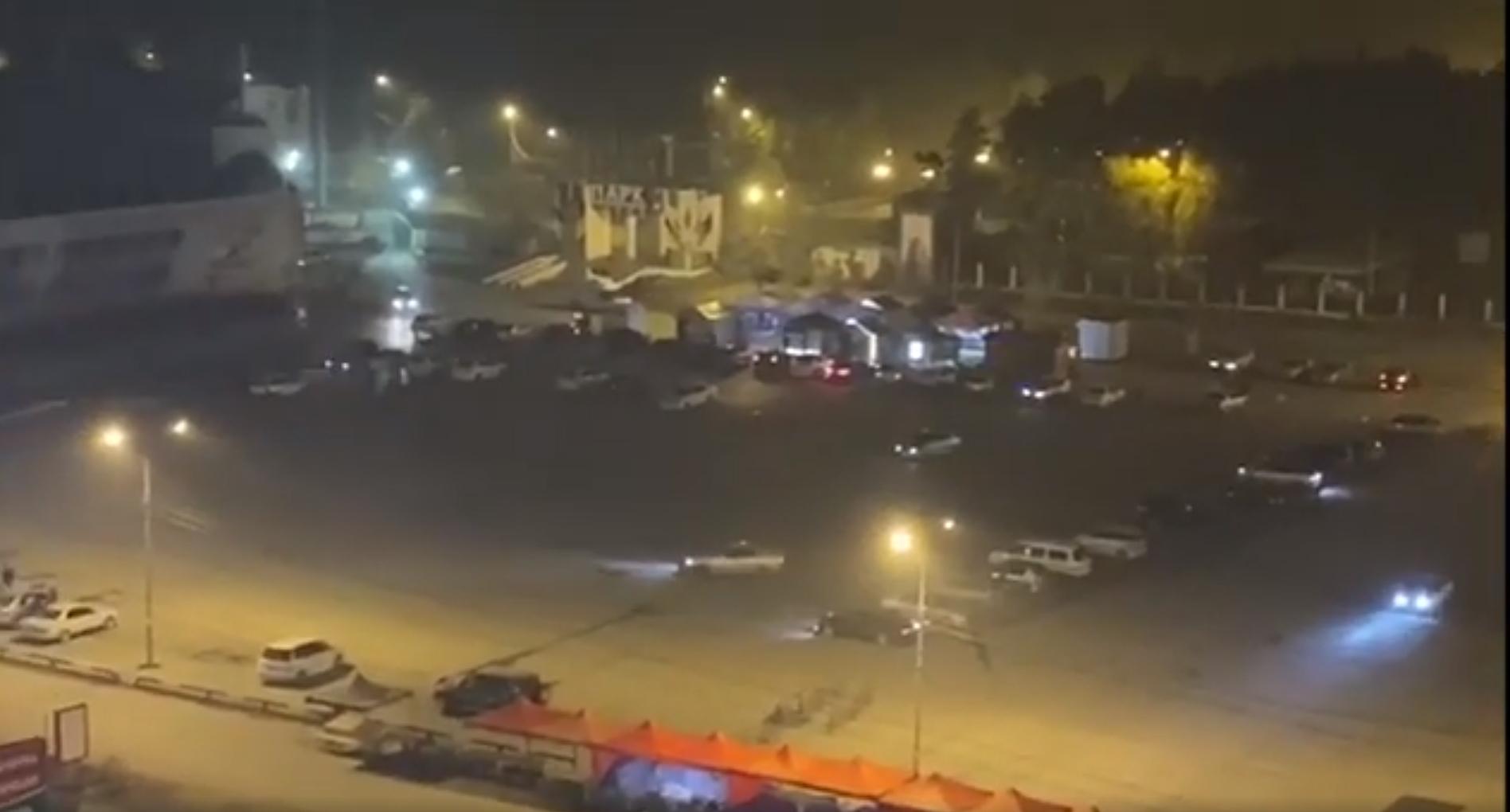 Видео: Дрифтеры вернулись на Комсомольскую площадь Якутска