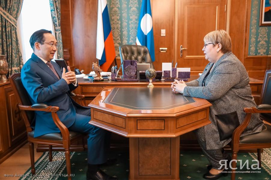 Глава Якутии и сенатор от Ненецкого автономного округа обсудили вопросы развития Арктики