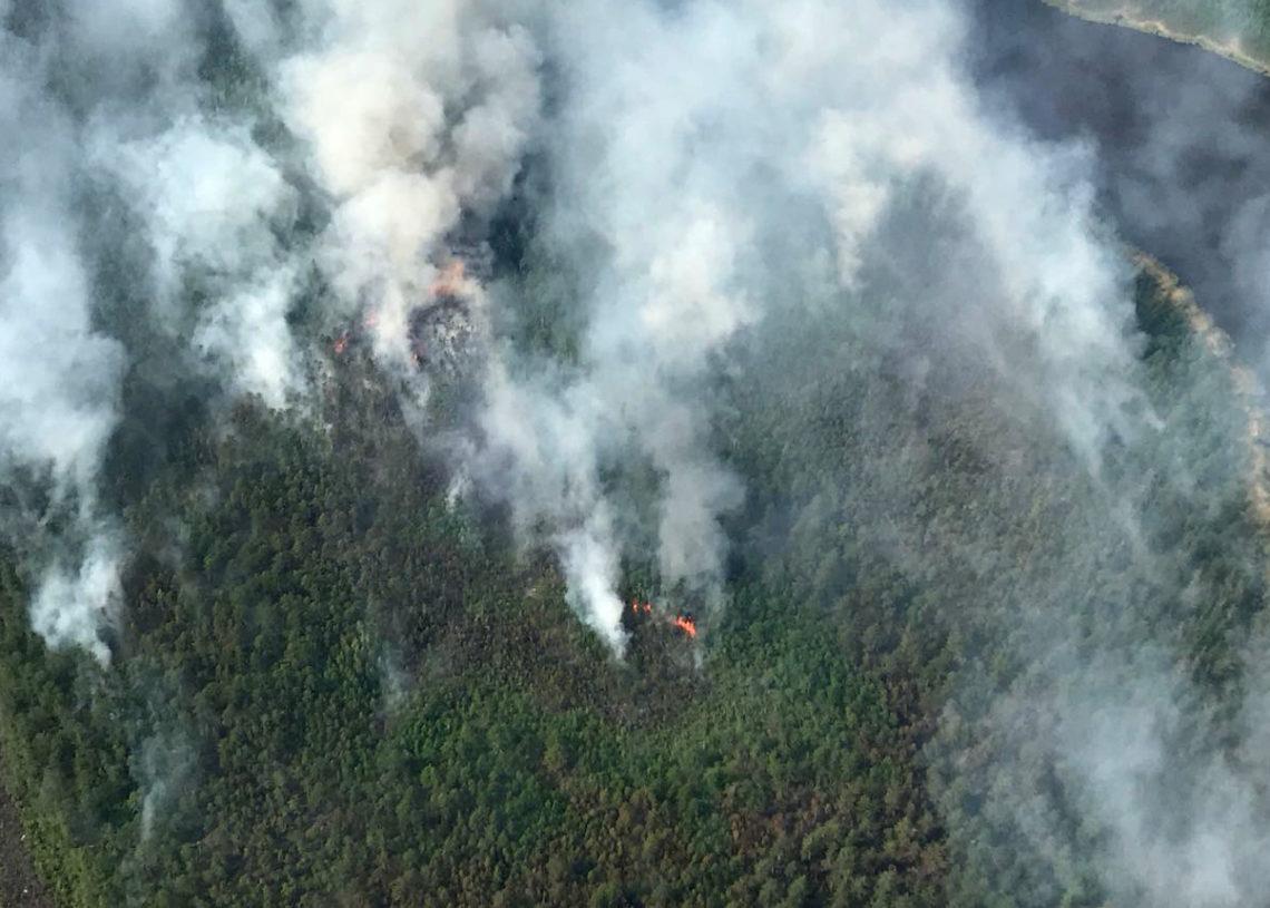 В Якутии высокий пожароопасный класс сохраняется в пяти районах