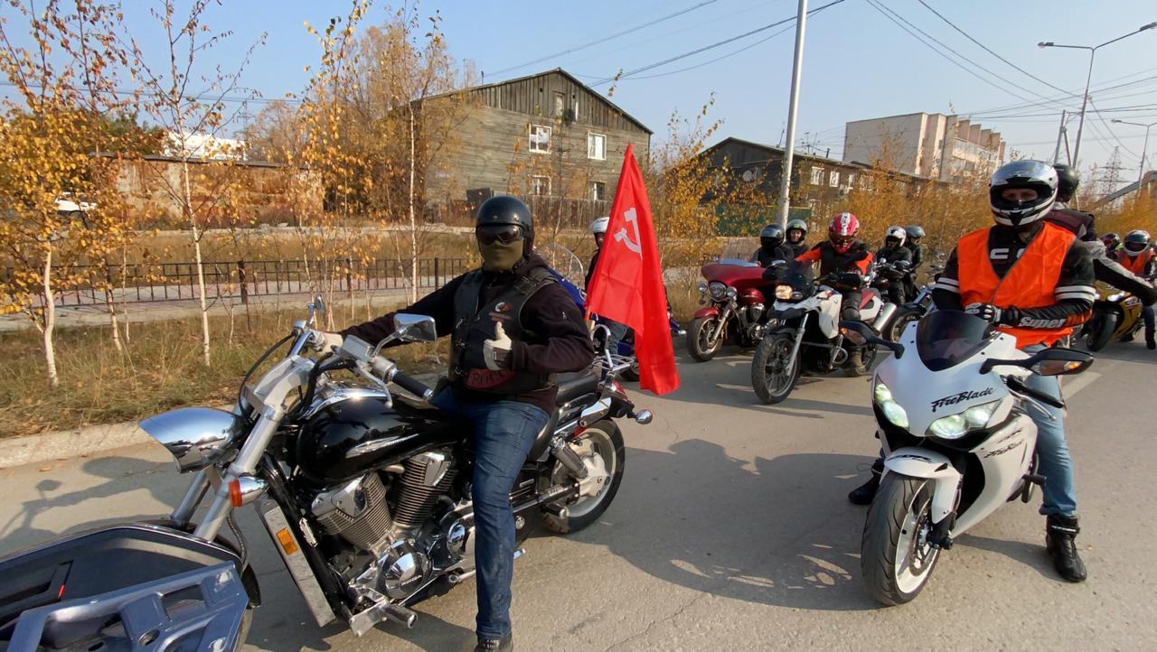 Закрытие мотосезона в Якутске: Как это было