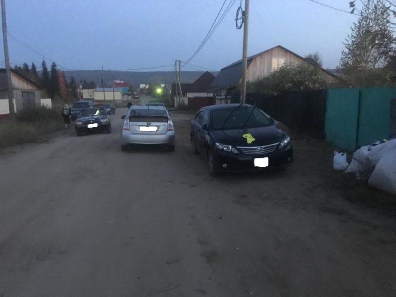 В Ленском районе нетрезвый водитель совершил  наезд на пешехода
