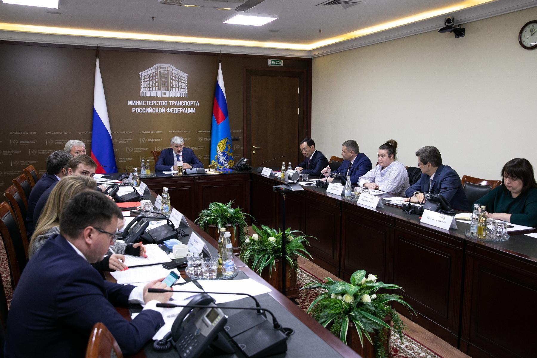 В Минтрансе России обсудили варианты создания дальневосточной авиакомпании