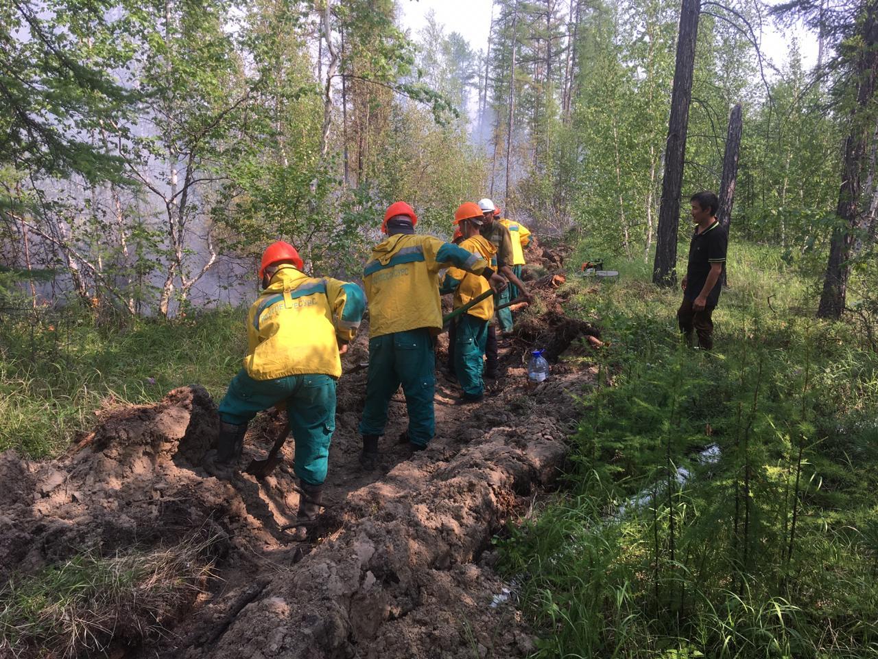 Около 400 работников Якутлесресурса участвовали в борьбе с природными пожарами в этом году
