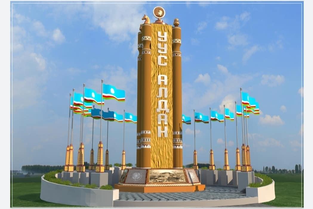 На границах Усть-Алданского улуса начали строительство въездных стел