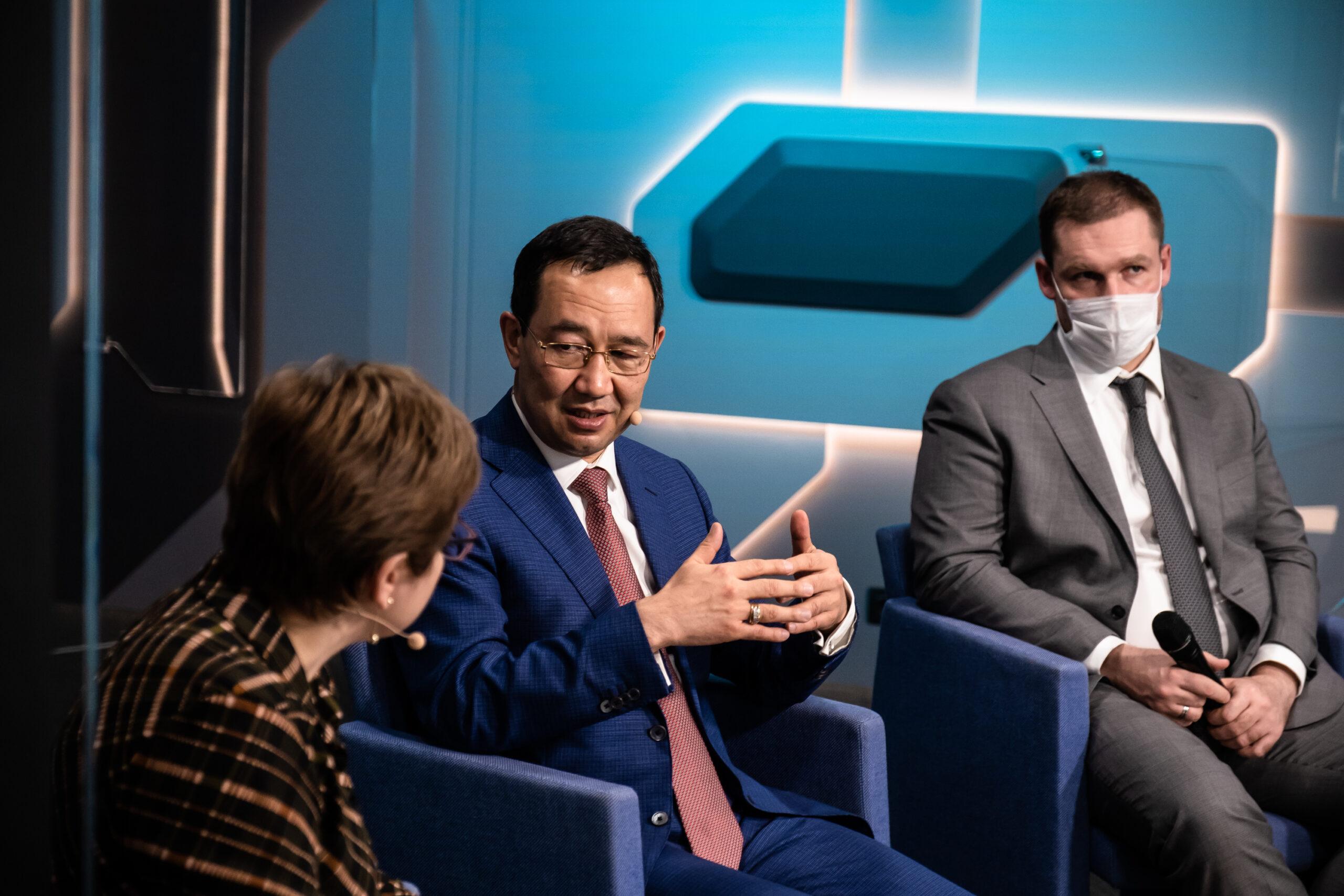 Глава Якутии рассказал о положительном опыте реализации проектов социального воздействия на конференции ВЭБ.РФ