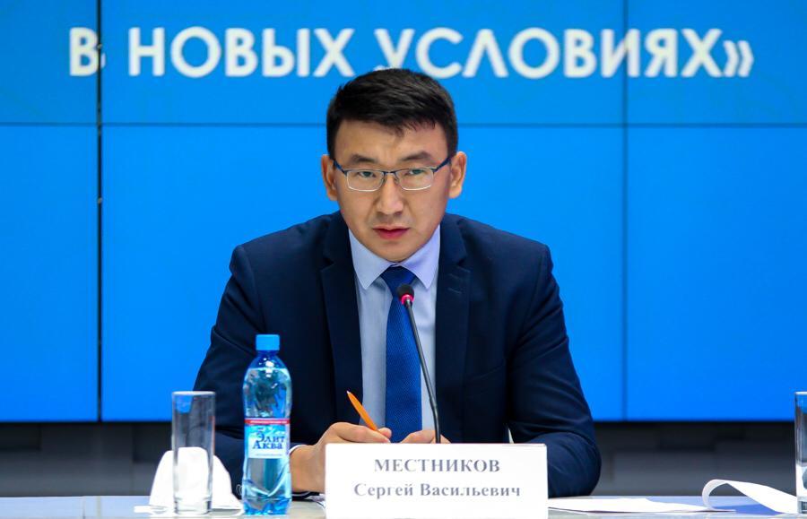 Сергей Местников поздравляет с Днем якутского телевидения