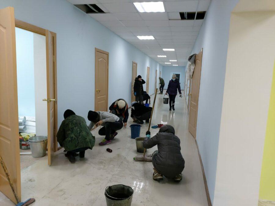 школа-сад село Люксюгюн Кобяйский район