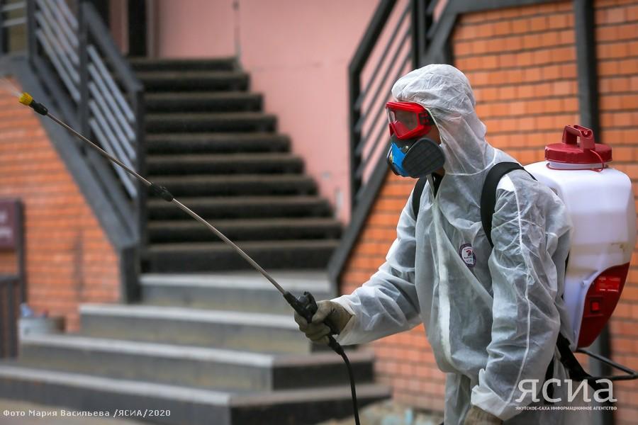 В Якутии возвращают практику еженедельной дезинфекции общественных пространств