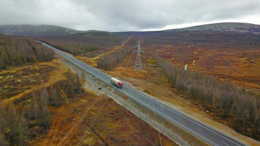 В Якутии ликвидировали 11-километровый гравийно-щебеночный разрыв на трассе «Лена»
