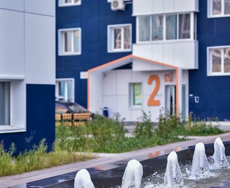 Самые комфортные дворы Якутска - в 203 микрорайоне. Подведены итоги конкурса