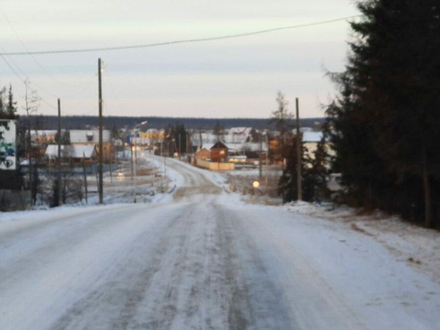 В Якутии из-за аномального потепления ухудшилась дорожная обстановка