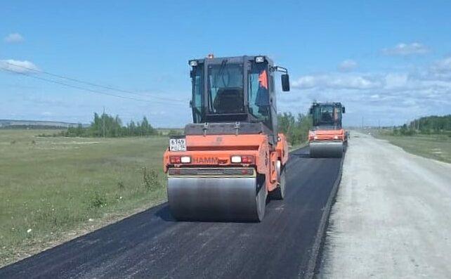 """Реконструкция подъездной автомобильной дороги """"Умнас"""" Октемцы - Техтюр завершается"""