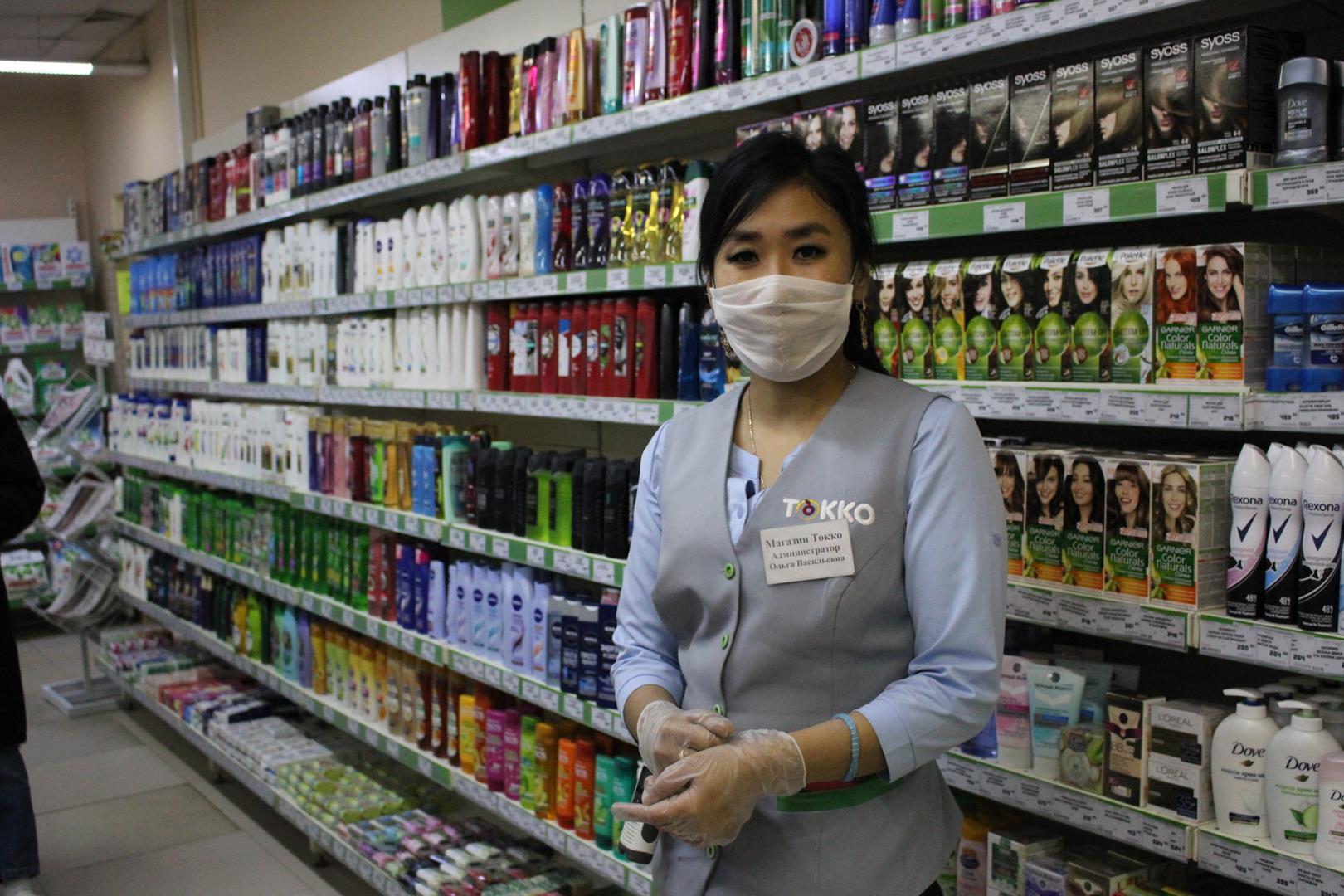 Администратор сообщила, что все меры в торговых залах соблюдаются