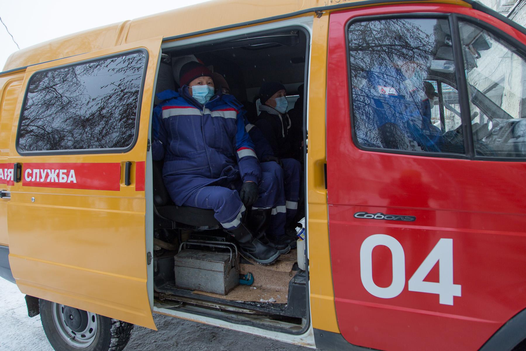 Репортаж ЯСИА: Выезд с газовиками на аварийную заявку в условиях пандемии