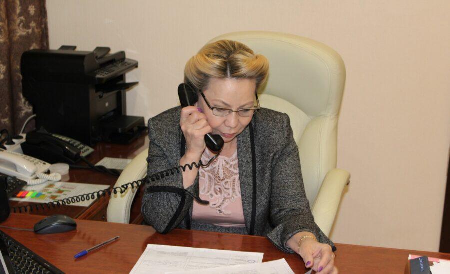 Галина Данчикова ответила на вопросы граждан старшего поколения