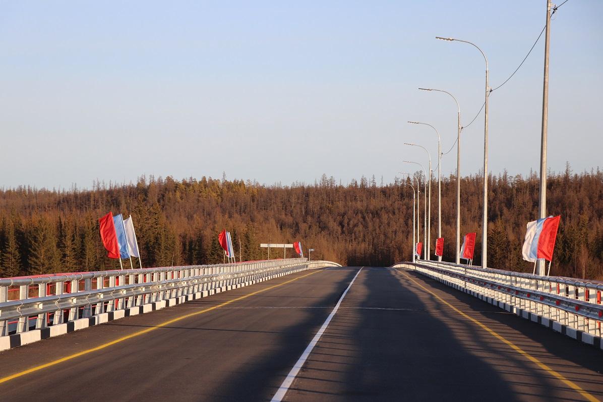 Открытие мостов на трассе «Вилюй» даст положительный экономический эффект