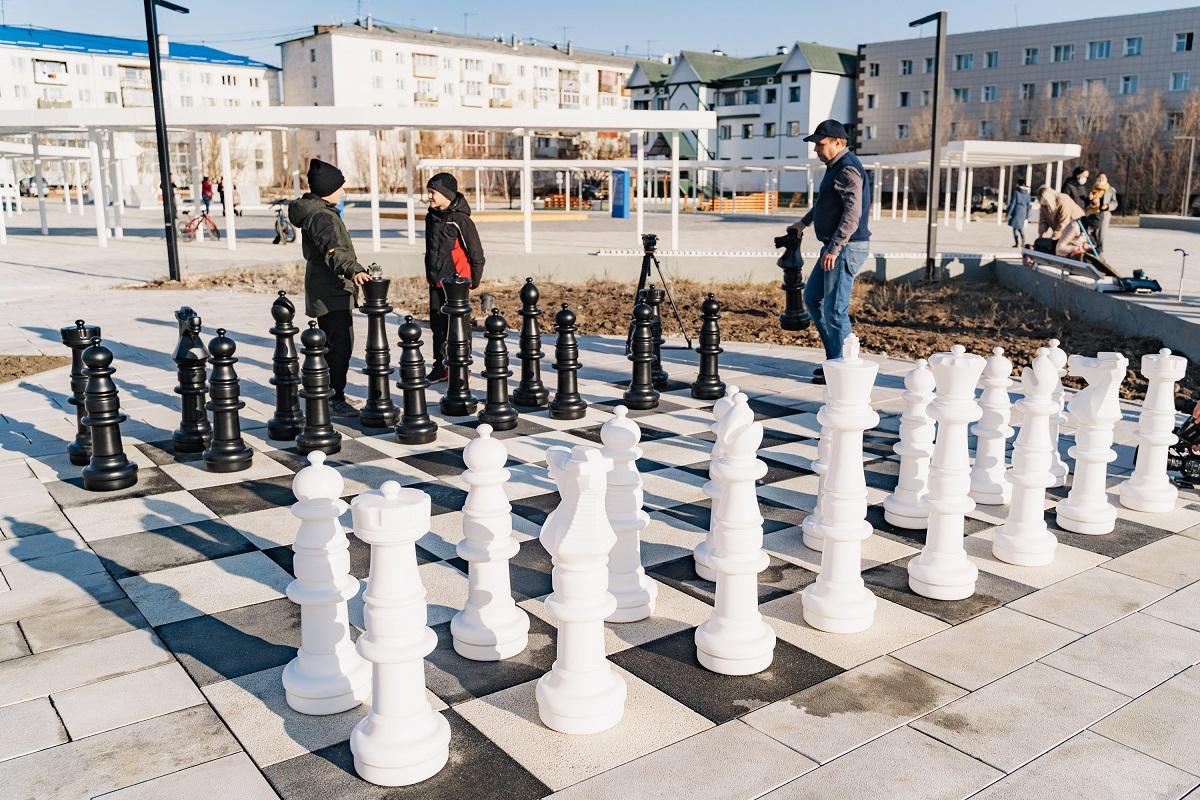 Уличные шахматы отправили зимовать в дом культуры