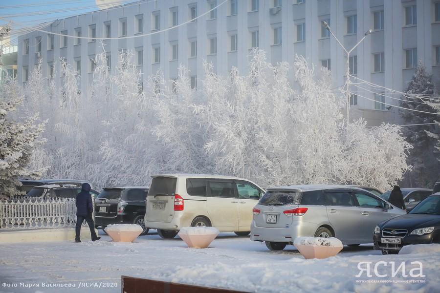Погода на выходные в Якутске: облачно и -29 градусов ночью