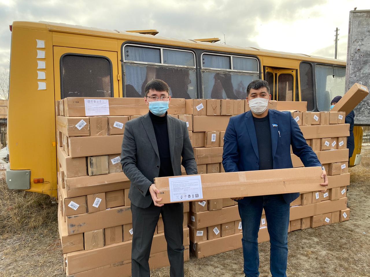 Школы и детсады Верхневилюйского улуса получили 217 рециркуляторов воздуха