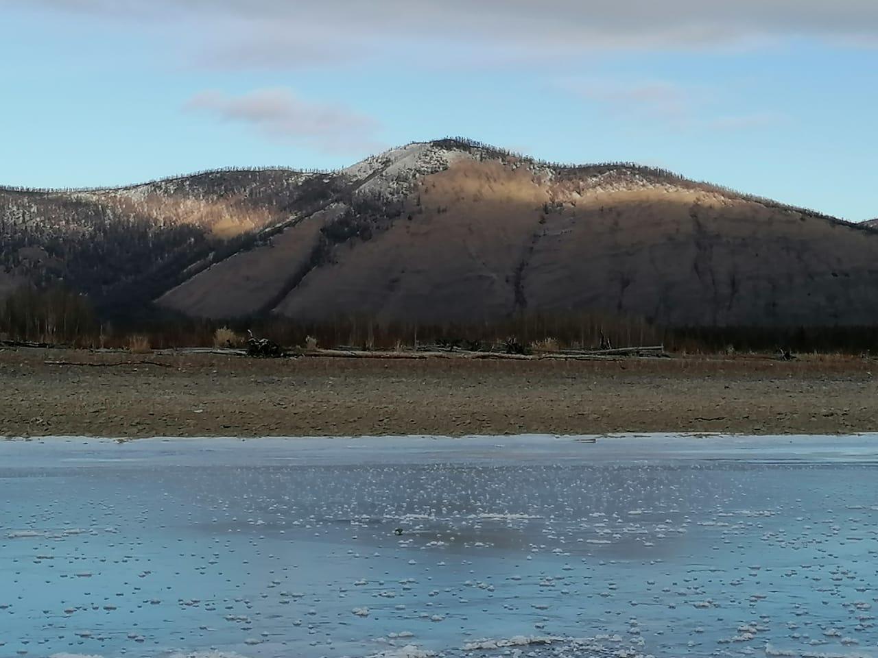 Фотофакт: Бесснежный север Якутии