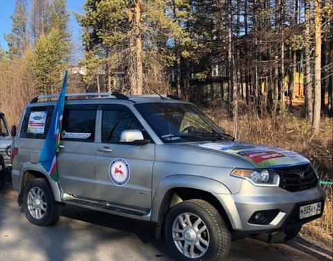Из села Иенгра стартовал второй этап автопробега на природном газе
