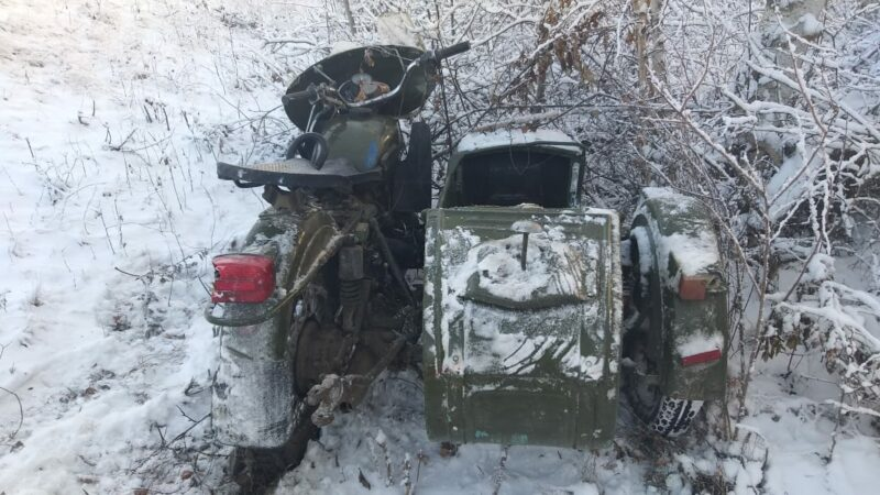 Мотоциклист погиб в результате ДТП в Томпонском районе