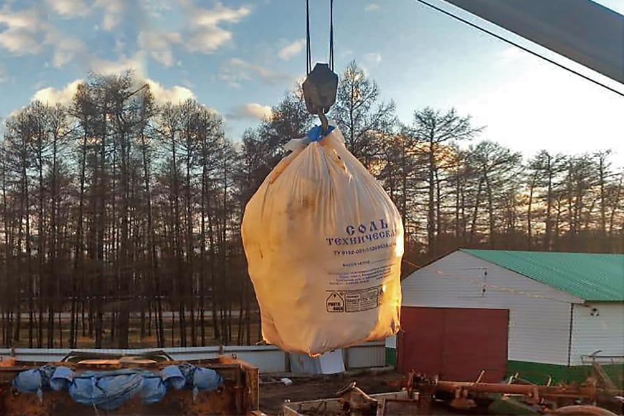 8 тонн соли для подкормки животных заготовили в Якутии