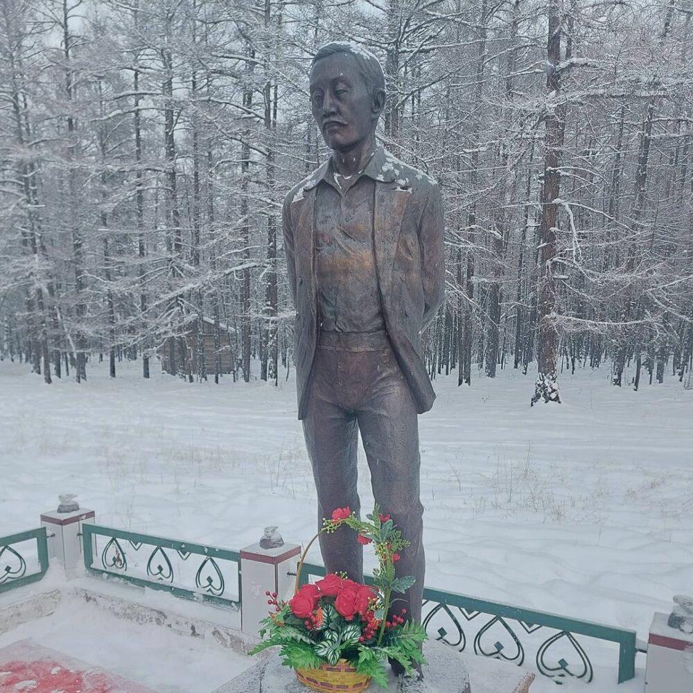 В Таттинском районе почтили память писателя Анемподиста Софронова-Алампа
