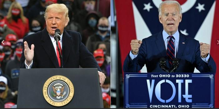 В США ведется подсчет голосов на выборах президента. Пока ничего не ясно