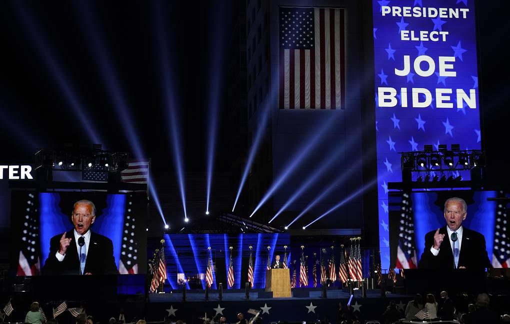 Байдена назвали победителем президентской гонки в США. Трамп пока не намерен сдаваться
