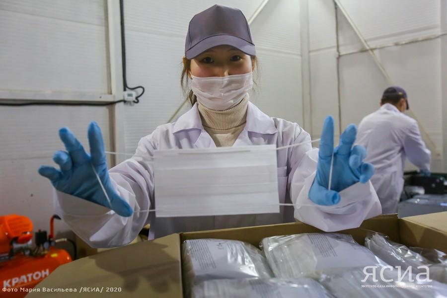 Made in Yakutia. В Якутске начал работу цех по производству медицинских масок