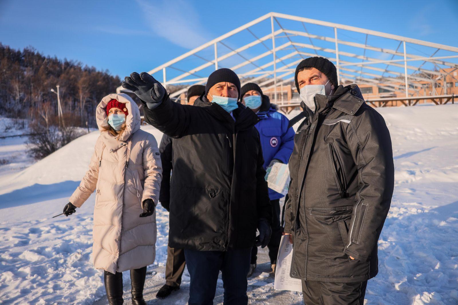 Дмитрий Бердников провёл выездное совещание по вопросу строительства Ленского моста