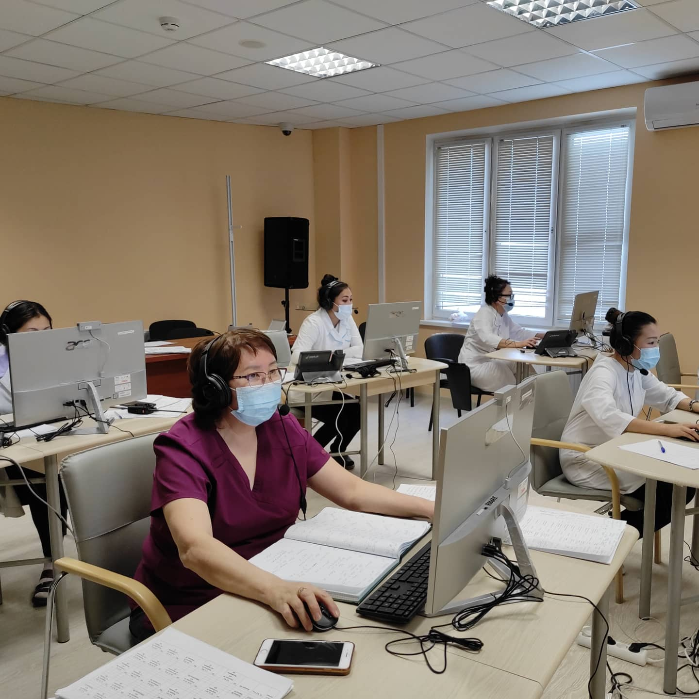 В Якутской городской больнице № 3 усиливают работу call-центра