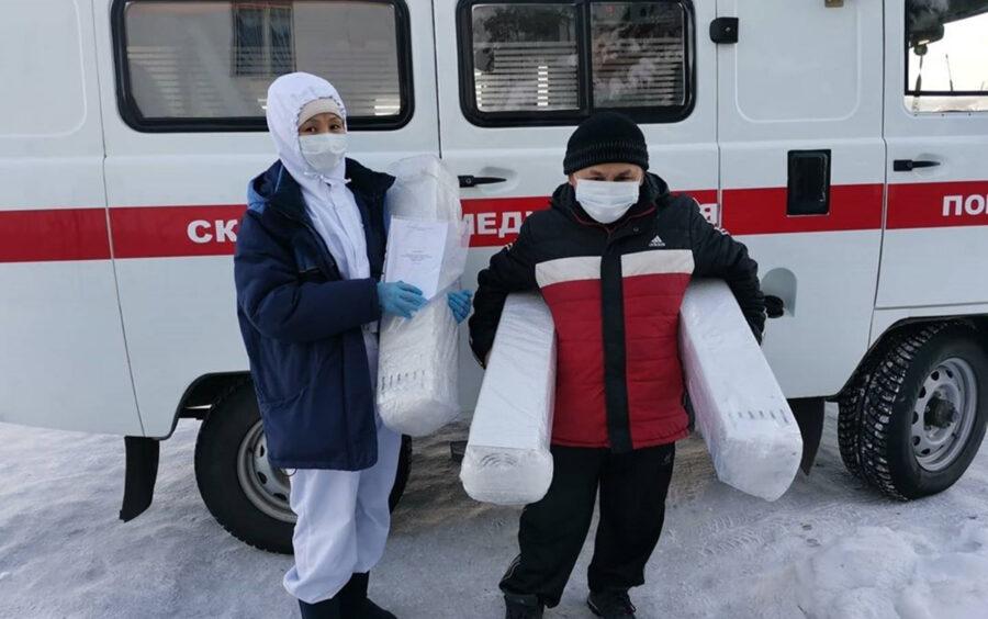 Три рециркулятора подарили Амгинской районной больнице