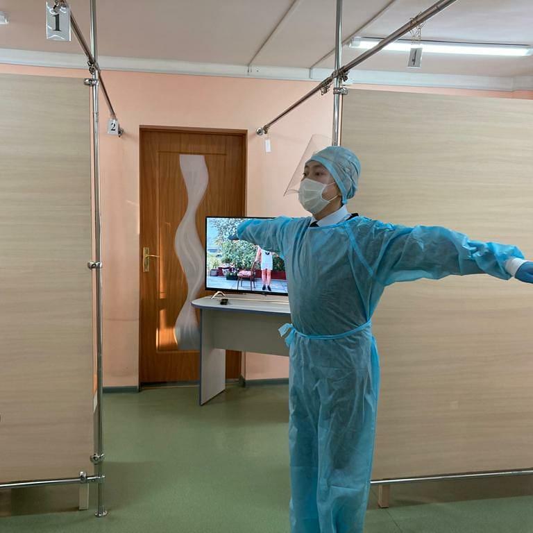 Республиканская больница №3 открыла кабинет реабилитации после перенесенной вирусной пневмонии