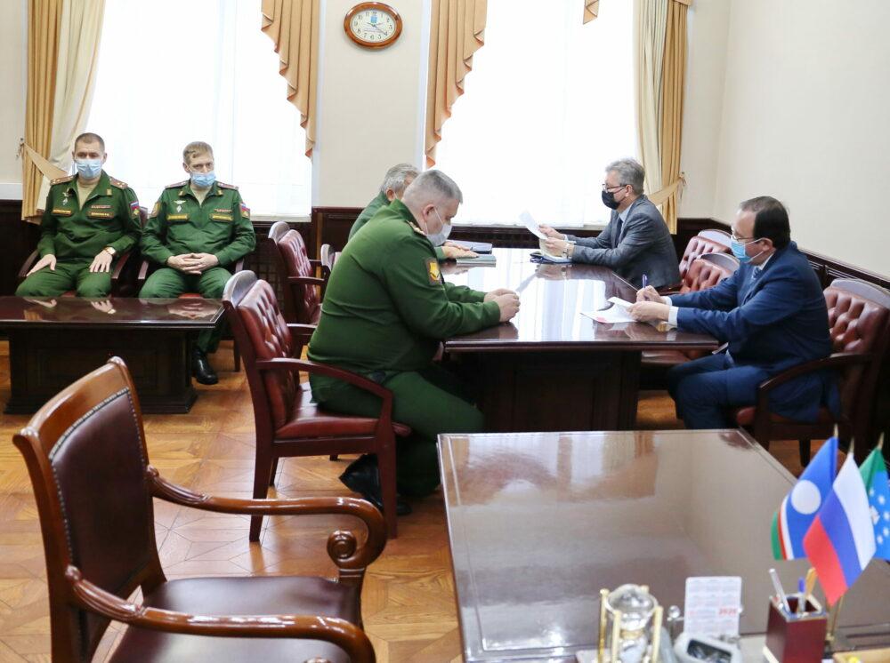 В Мирном работает группа офицеров штаба Восточного военного округа