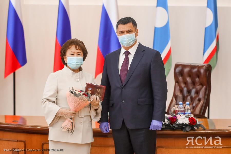 Ко Дню народного единства в Якутии наградили медицинских работников