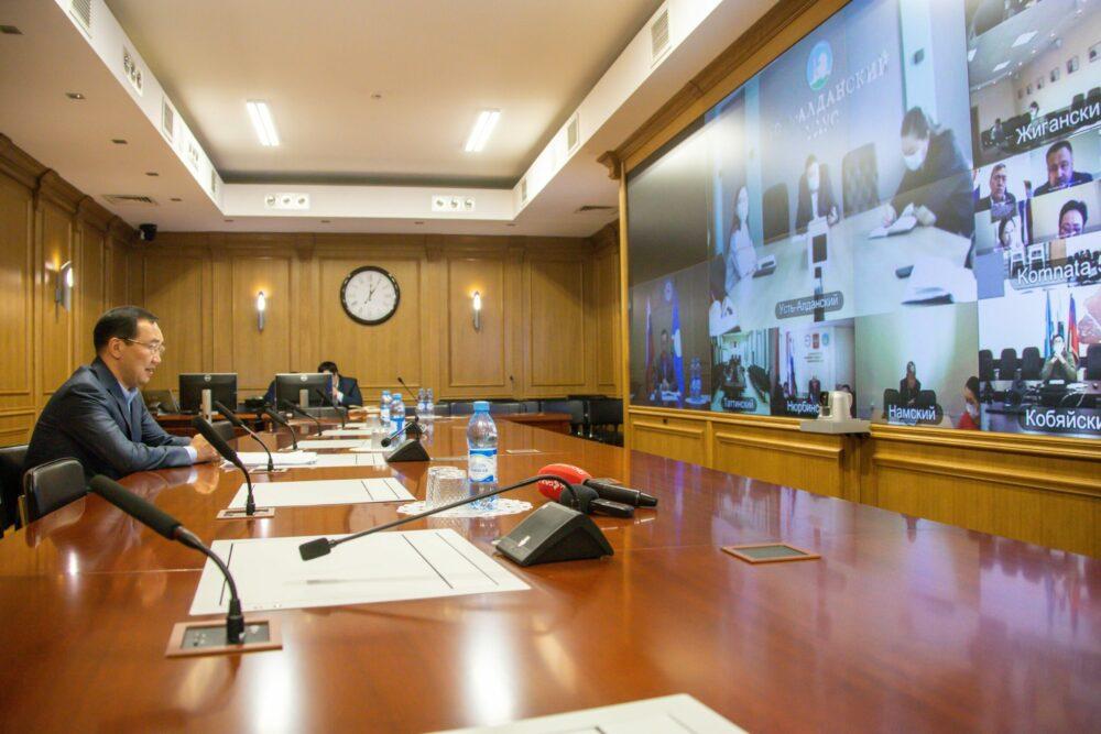 Глава Якутии поставил задачу перед муниципалитетами до конца ноября стабилизировать эпидситуацию на местах