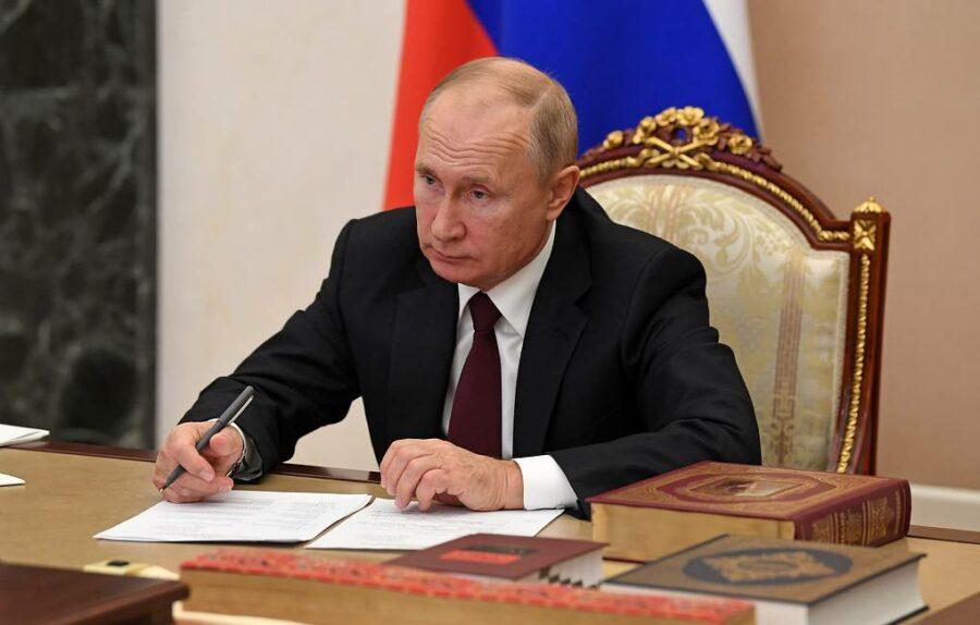 Путин подписал закон, предусматривающий новый порядок формирования правительства