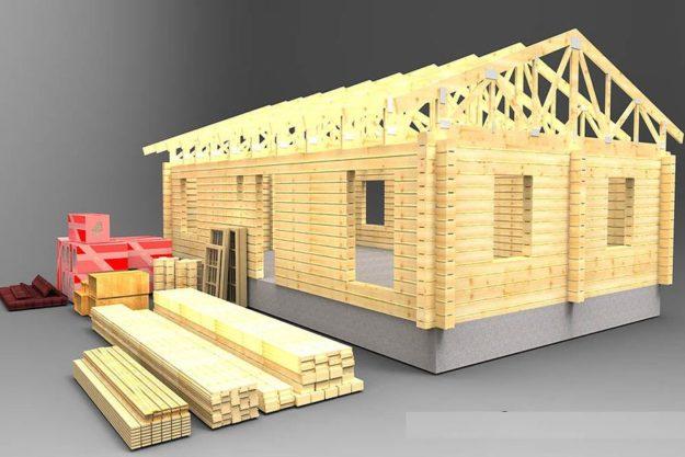 Ипотеку в России распространят на строительство деревянных домов