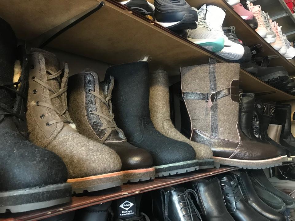 Зимняя обувь: Что выбирают якутяне?