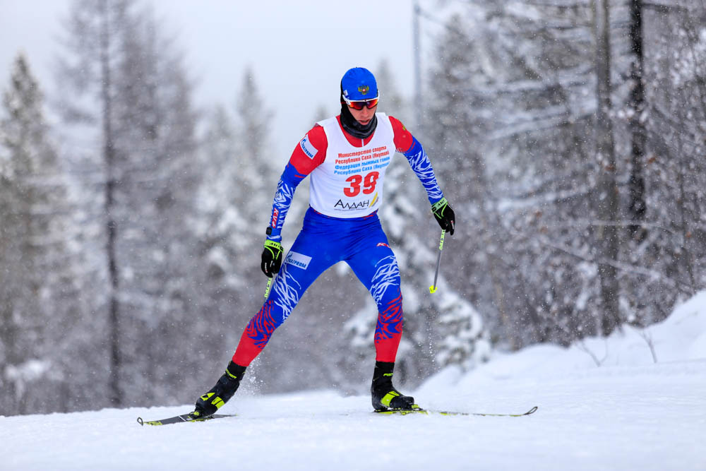 В Алдане состоялись контрольные старты сборных команд России по лыжным гонкам и биатлону